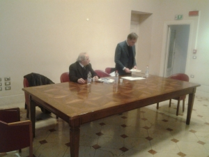 da sinistra Santino Bonsera e Nicola De Blasi