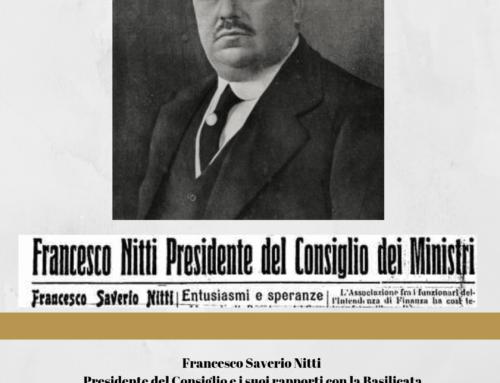 FRANCESCO SAVERIO NITTI PRESIDENTE DEL CONSIGLIO E I SUOI RAPPORTI CON LA BASILICATA