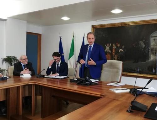 LA CONFERENZA STAMPA DI PRESENTAZIONE DELLA QUARANTOTTESIMA EDIZIONE DEL PREMIO LETTERARIO BASILICATA