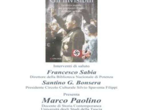 """PRESENTAZIONE LIBRO DI MIRELLA SERRI """"GLI INVISIBILI"""""""