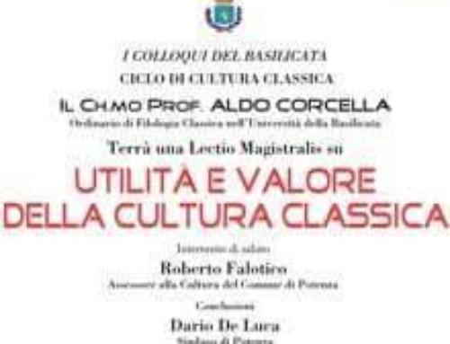 Utilità e valore della cultura classica