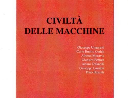 """Omaggio a Leonardo Sinisgalli: """"Civiltà delle macchine"""". Significato e attualità di una rivista."""