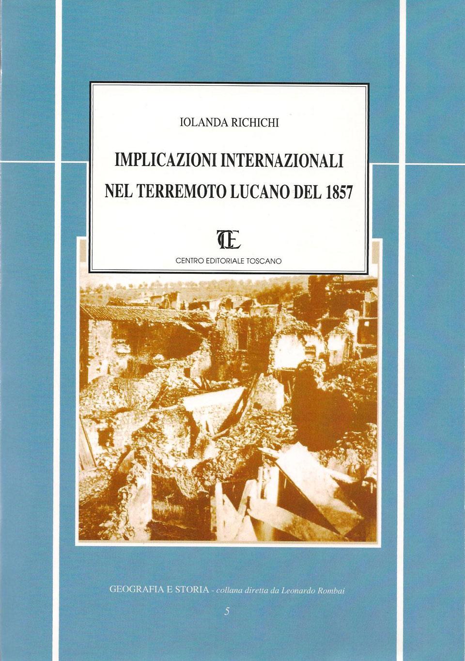 mplicazioni internazionali nel terremoto lucano del 1857